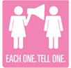 Each One. Tell One. Logo